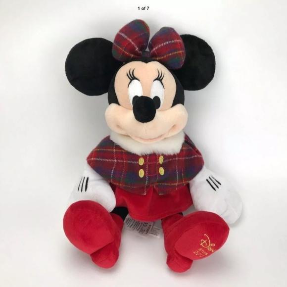 Disney Exclusive 2013 HOLIDAY 17 Inch Plush MINNIE